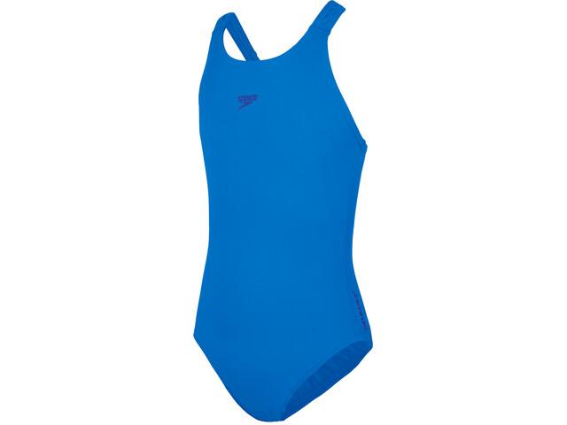 speedo Essentials Endurance+ Medalist Costume Ragazza, bondi blue